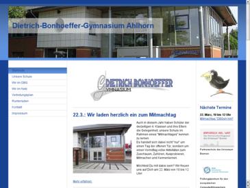 Dietrich-Bonhoeffer-Gymnasium Großenkneten-Ahlhorn