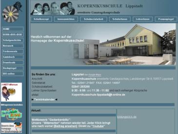 Kopernikusschule, erweiterte Ganztagshauptschule, Lippstadt