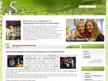 Sängerstadt - Gymnasium Finsterwalde