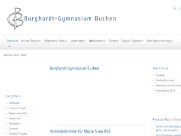 Burghardt -Gymnasium Buchen - BGB