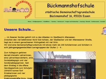 Bückmannshofschule, städt. Gemeinschaftsgrundschule, 45326 Essen