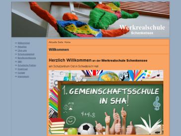 Hauptschule Schenkensee mit Werkrealschule Schwäbisch Hall