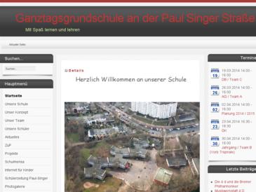 Schule an der Paul-Singer-Straße