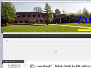 Homepage Otto-Hahn-Gymnasium Herne