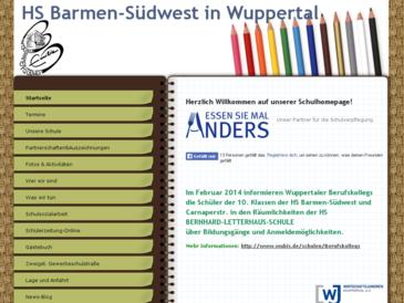 Hauptschule Emilie Wuppertal Barmen Südwest