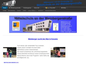 Hauptschule Weinbergerstraße