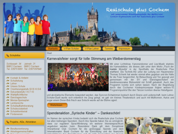 Homepage Realschule Cochem