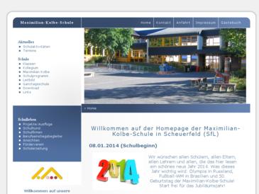 Maximilian-Kolbe-Schule Scheuerfeld Sieg