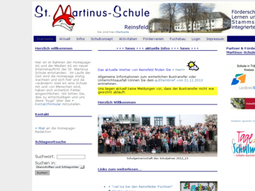 St. Martinus-Schule, Schule mit den Förderschwerpunkten Lernen und Sprache
