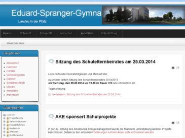 Eduard-Spranger-Gymnasium Landau