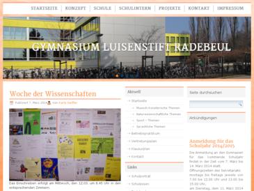 Gymnasium Luisenstift Radebeul