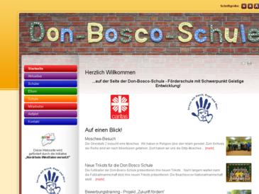 Don-Bosco-Schule, Förderschule mit dem Förderschwerpunkt Geistige Entwicklung