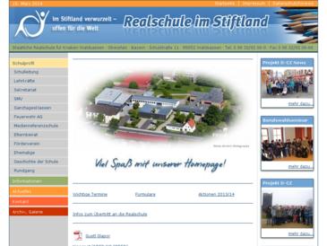 Staatliche Realschule für Knaben Waldsassen - Homepage KRSW