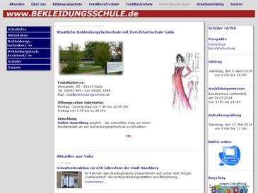 Staatliches Berufliches Schulzentrum Textil und Bekleidung Münchberg-Naila