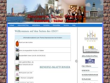"""Große Stadtschule """"Geschwister Scholl Gymnasium"""" Wismar"""