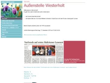 Christian-Wilhelm-Schneider Schule, Außenstelle Westerholt