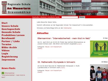 "Regionale Schule ""Am Wasserturm"" Grevesmühlen"