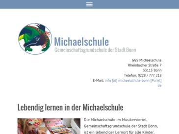 Michaelschule, Gemeinschaftsgrundschule der Stadt Bonn