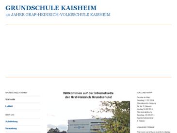 Graf-Heinrich-Volksschule Kaisheim