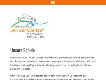 Volksschule - An der Göritze, Schwürbitz