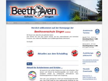 Beethovenschule - Singen am Hohentwiel Grund- und Werkrealschule