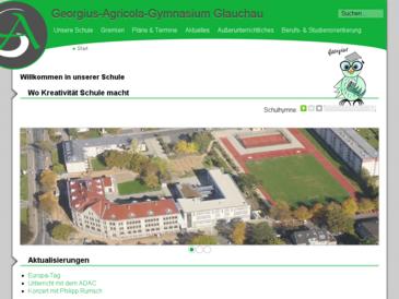 Das Georgius-Agricola-Gymnasium in Glauchau