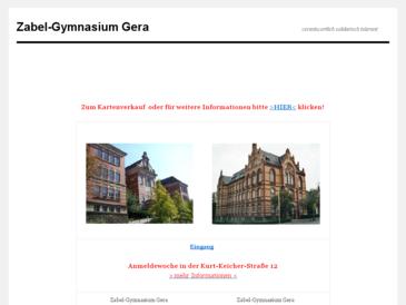 Zabel-Gymnasium Gera