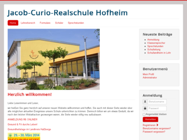 Jacob-Curio Realschule - Staatliche Realschule Hofheim