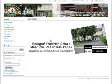Markgraf-Friedrich-Realschule Staatliche Realschule Rehau