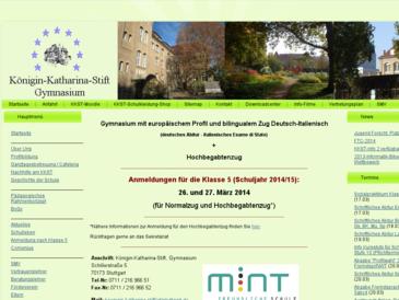 Königin-Katharina-Stift, Gymnasium