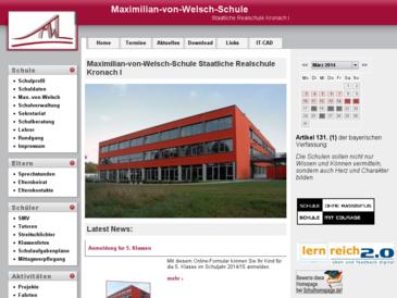 Maximilian-von-Welsch-Schule Staatliche Realschule Kronach I