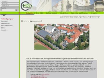 Christoph-Scheiner-Gymnasium Ingolstadt