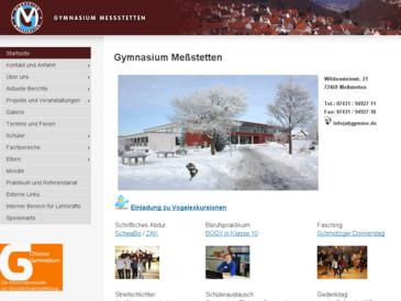 Gymnasium Meßstetten