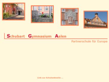 Schubart-Gymnasium Aalen - Schule für Europa