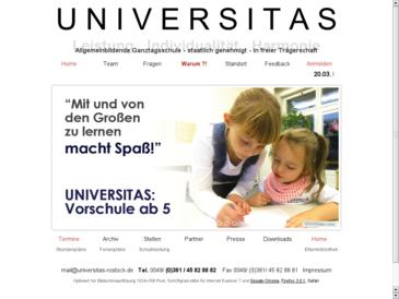 PRIVATSCHULE UNIVERSITAS gGmbH - Allgemeinbildende Ganztagsschule - staatlich ge