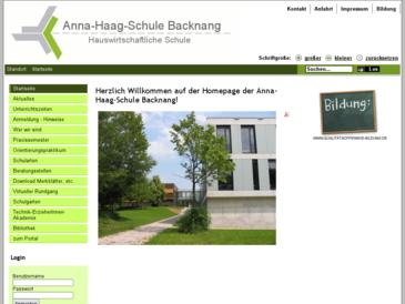 Anna-Haag-Schule Backnang