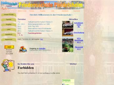 Friedensschule Pleidelsheim