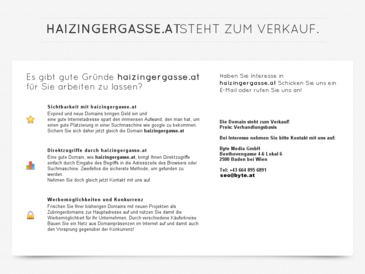 haizingergasse.at