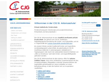 CJG St. Antoniusschule, Förderschule mit dem Förderschwerpunkt Emotionale und so