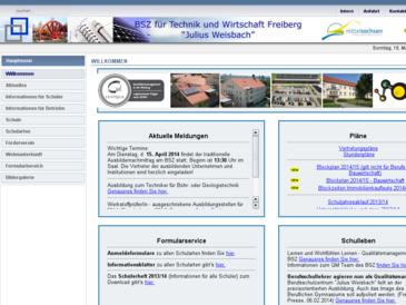 """Berufliches Schulzentrum für Technik und Wirtschaft """"J. Weisbach"""""""
