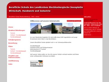 Berufliche Schule des Landkreises Mecklenburgische Seenplatte, -Wirtschaft, Hand