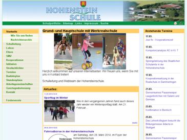 hohenstein-schule.de