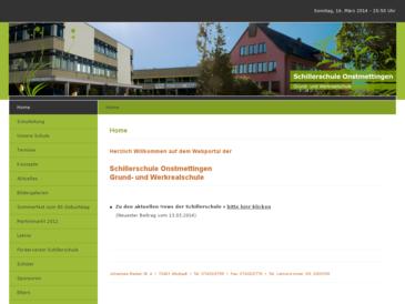 Schillerschule Onstmettingen Grund- und Werkrealschule
