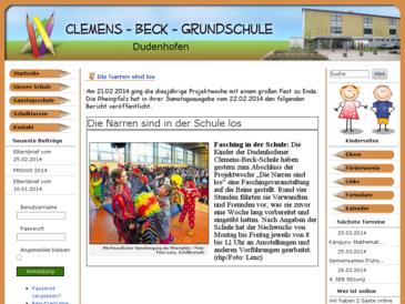 Clemens Beck Grundschule Dudenhofen