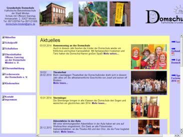 Grundschule Domschule  Katholische Bekenntnisschule der Stadt Minden