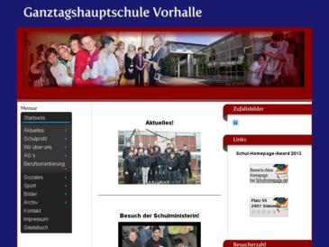Ganztagshauptschule-Vorhalle