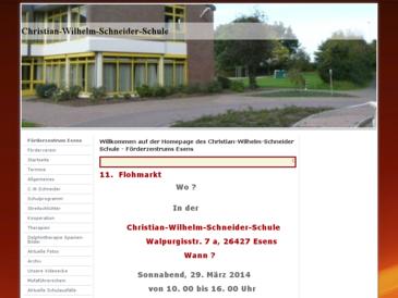 Christian Wilhelm Schneider Förderschule Esens