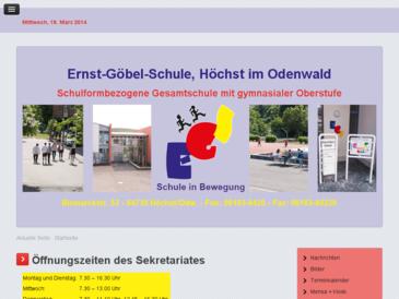 Ernst-Göbel-Schule Höchst/Odw.