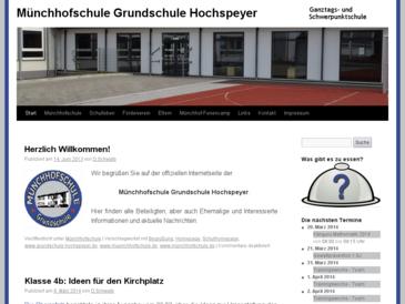 Münchhofschule Grundschule Hochspeyer