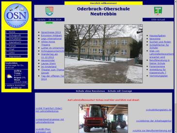 OSN-Homepage